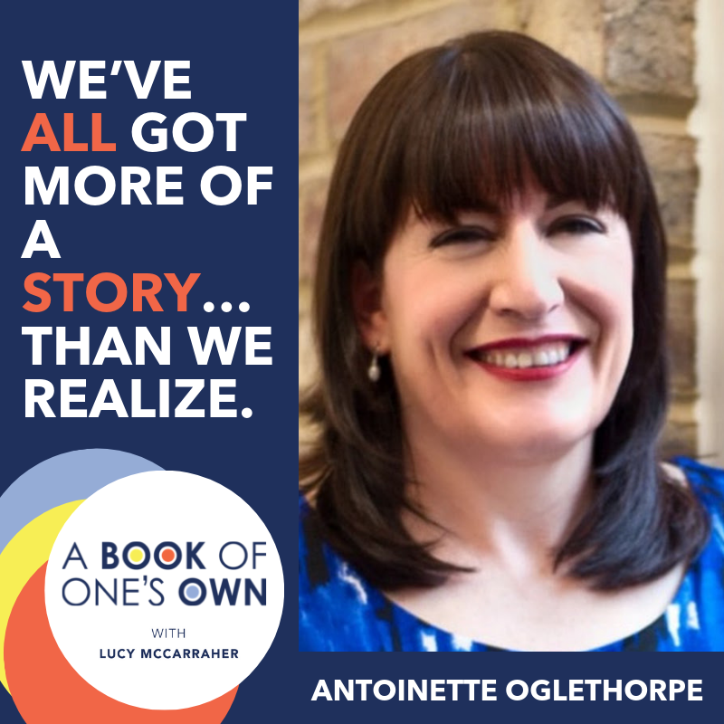 Using Your Book to Build Your Confidence and Visibility - Without Feeling Like a Salesman with Antoinette Oglethorpe
