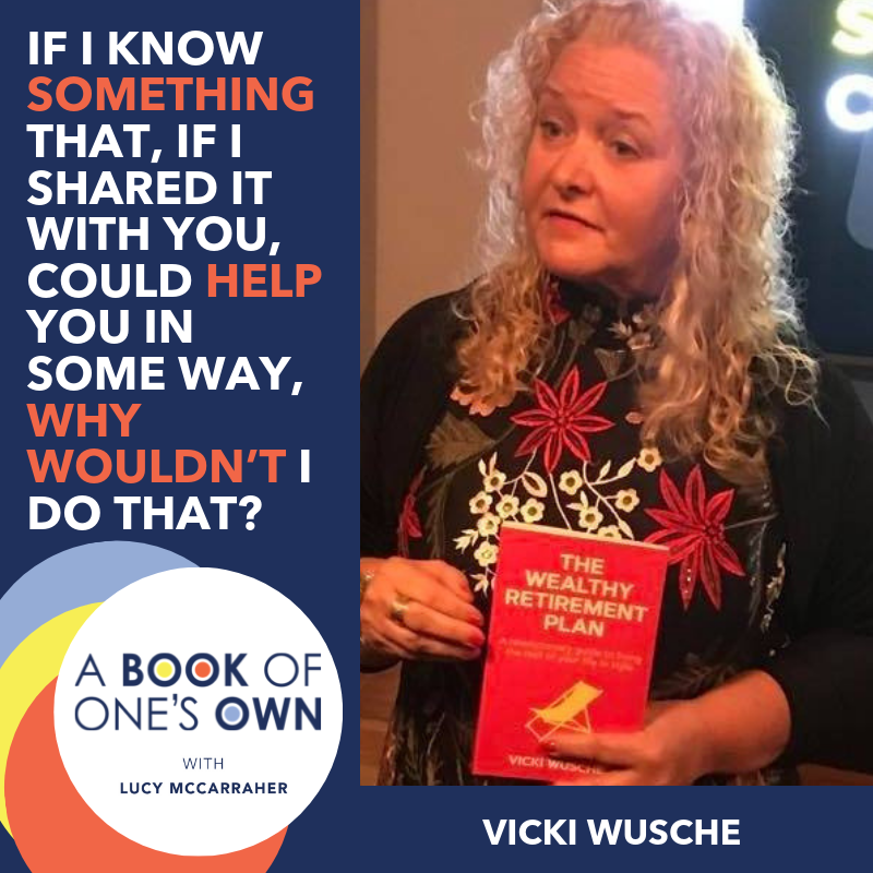 Vicki Wusche on A Book of One's Own Podcast