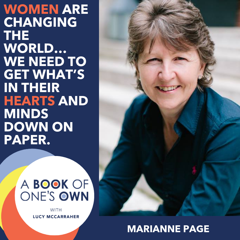 Marianne Page on A Book of One's Own Podcast